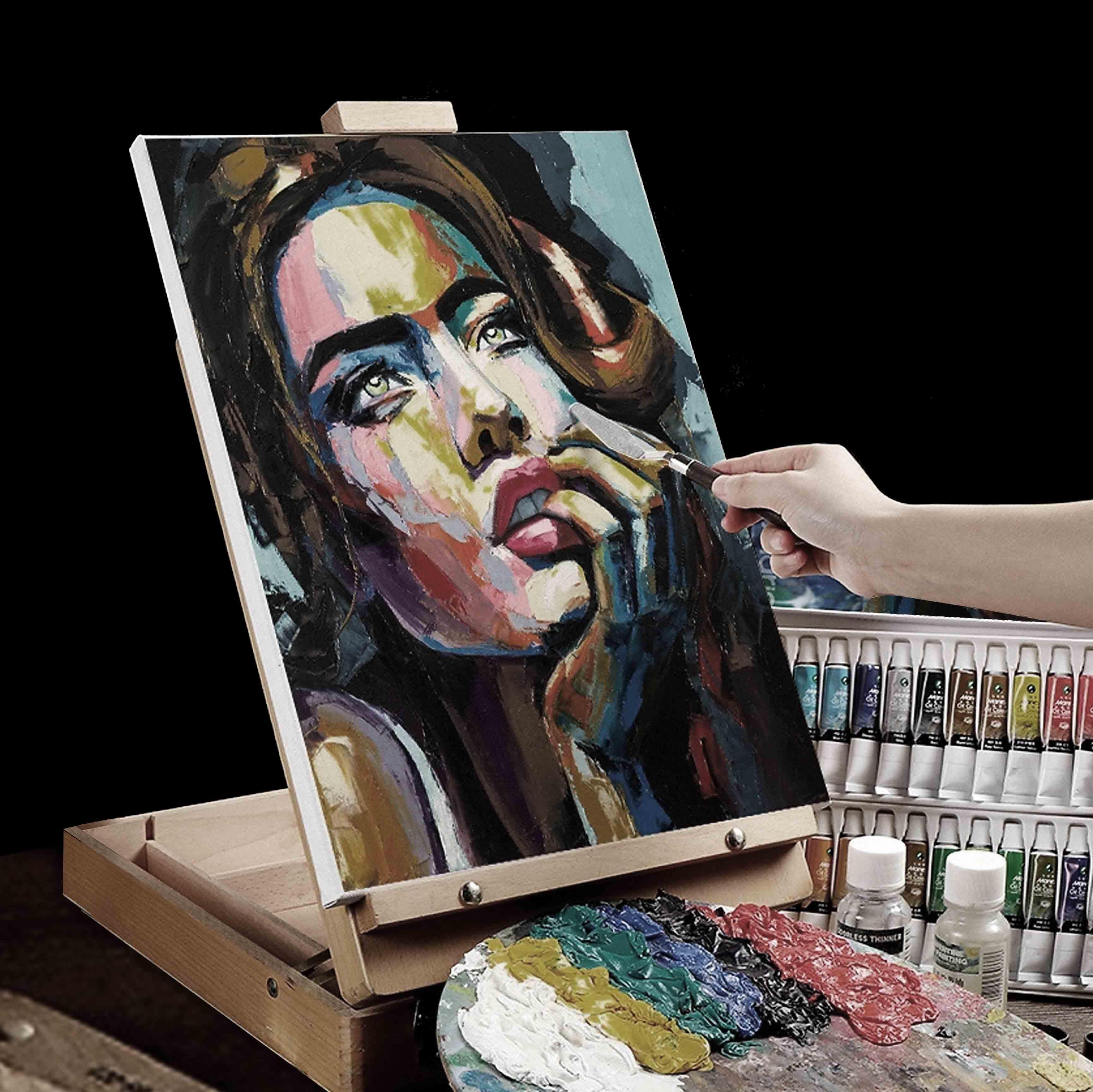 Kỹ thuật vẽ tranh sơn dầu