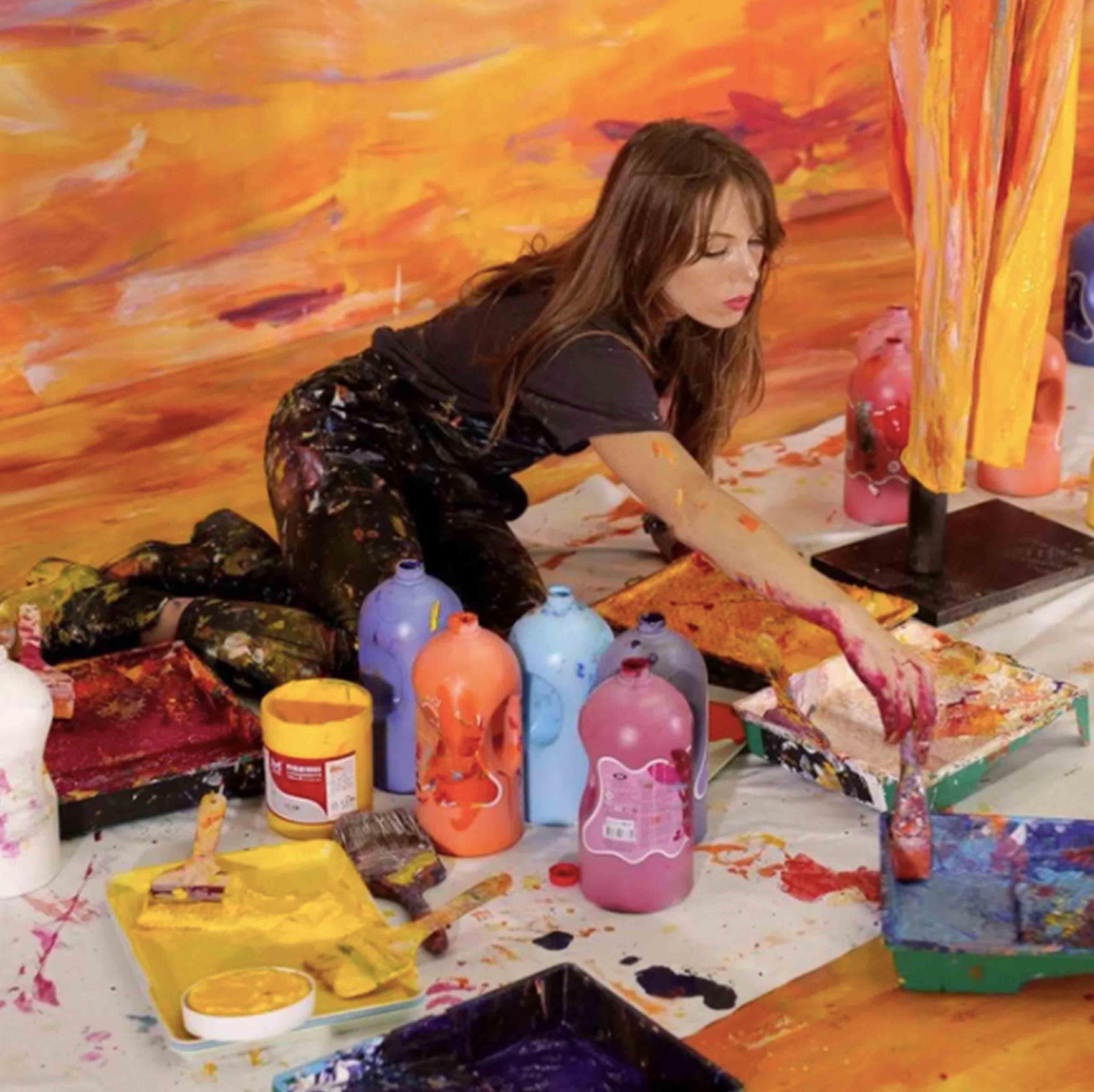 Ưu điểm nghệ thuật trong tranh sơn dầu trừu tượng