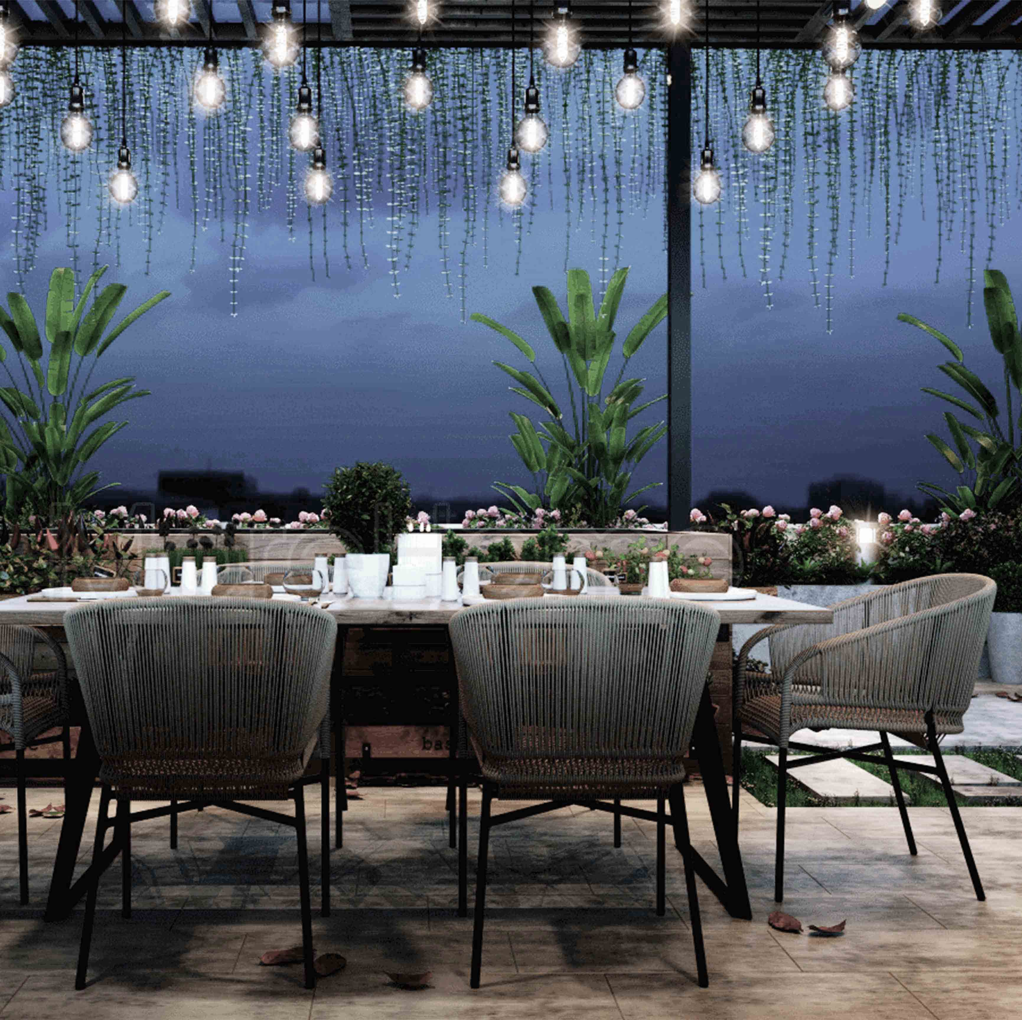 Những phong cách thiết kế nội thất nhà hàng khách sạn đẹp